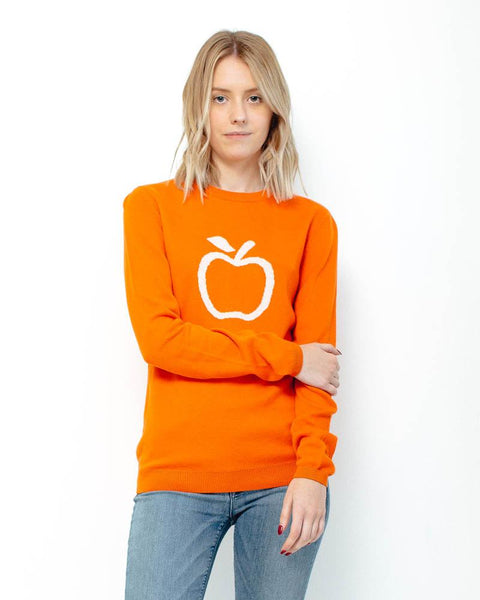 People Tree | Apple Jumper | Orange-Sweater-Mod + Ethico