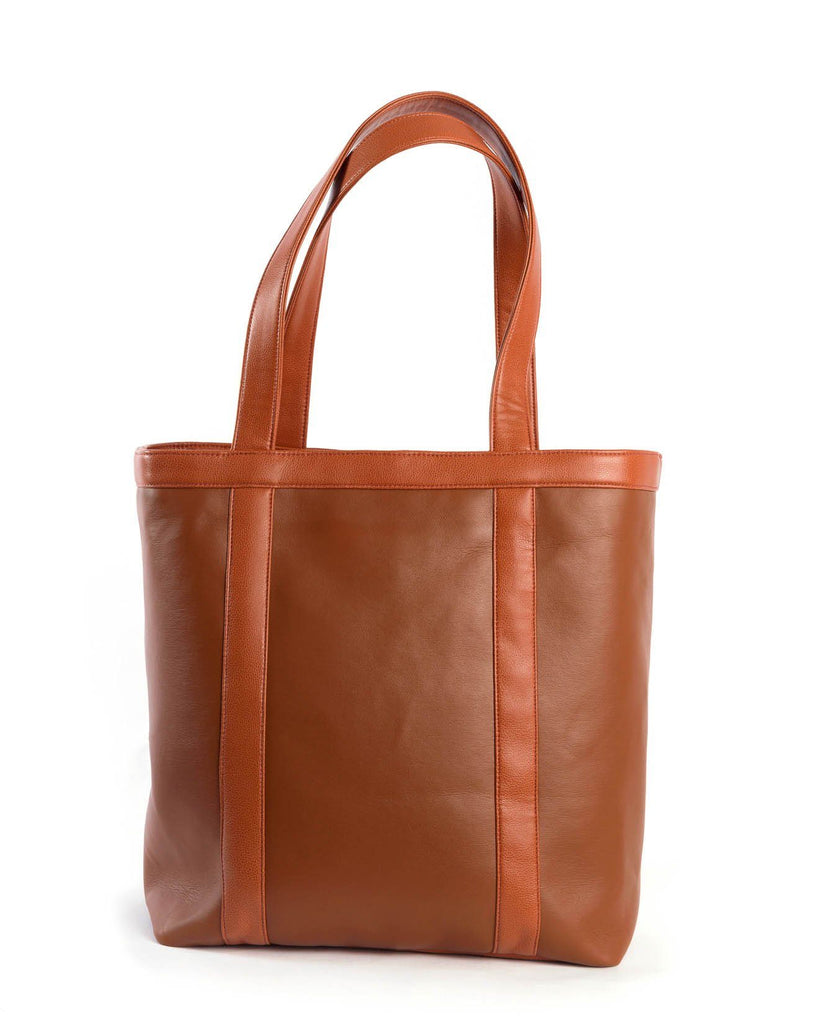 Eba Totes | THE WHISKEY TOTE | Tan-Handbag-Mod + Ethico