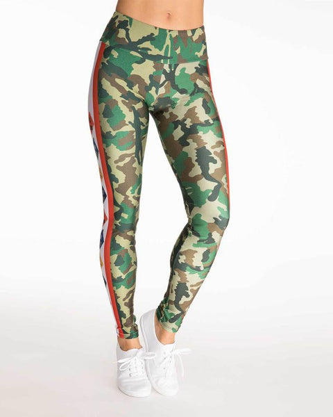 Goldsheep Clothing | Scout Camo Legging | Green-Leggings-Mod + Ethico