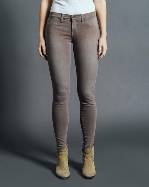 Henry and Belle Super Skinny Ankle Jean | Army Grey-Bottoms-Mod + Ethico