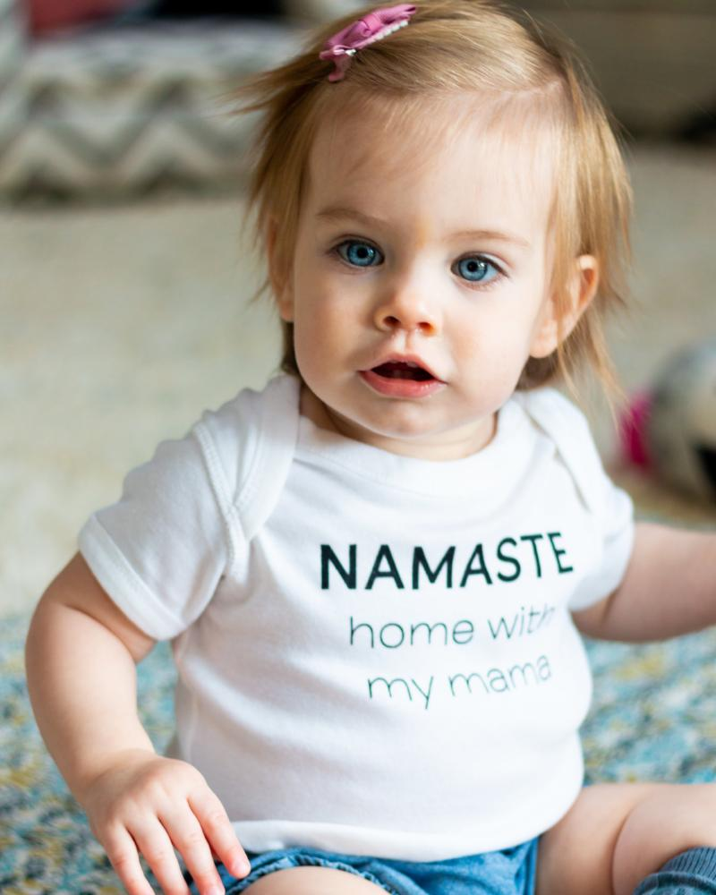 WoollyRoo | Namaste Home with My Mama | Onesie-Onesie-Mod + Ethico