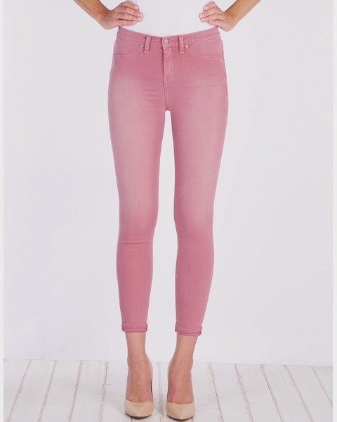 Henry and Belle Skinny Dusty Pink Ankle Jeans-Bottoms-Mod + Ethico