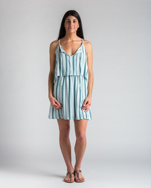 Splendid Striped Beachcomber Layer Dress-Dress-Mod + Ethico