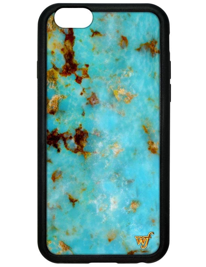 IPhone Case - Wildflower | Turquoise IPhone 6/6s Case