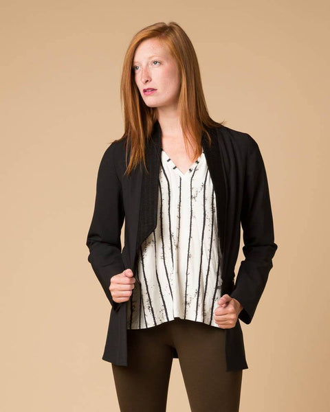 Jackets & Blazers - Suki + Solaine Divisible Blazer In Black