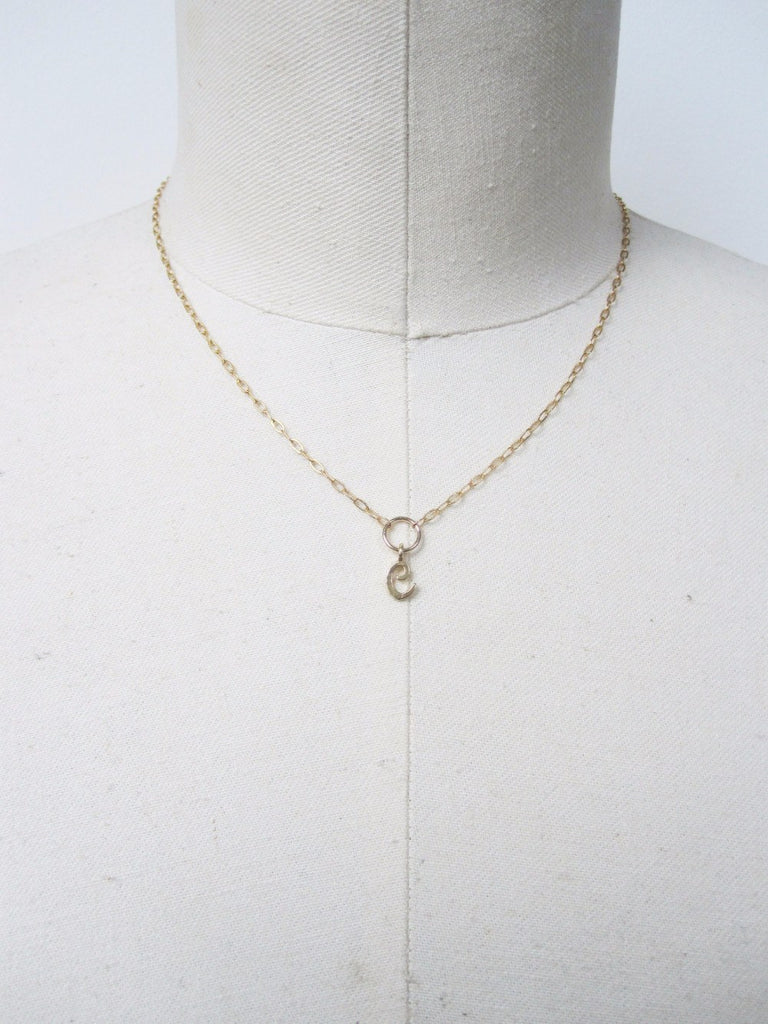 Ianneci Initial Necklace-Necklace-Mod + Ethico