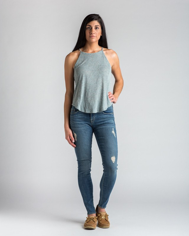 Mint Sydney Shirttail Tank | Project Social T-Tanks-Mod + Ethico