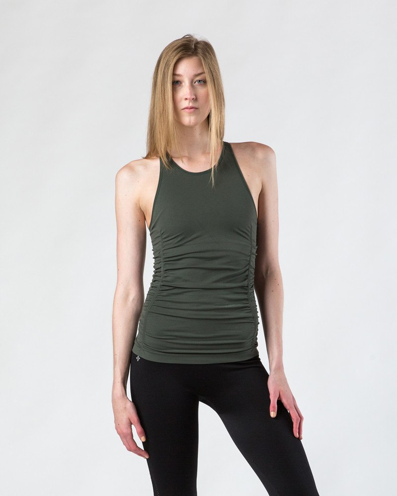 NUX Spell Bound Cami | Army-Workout Tops-Mod + Ethico