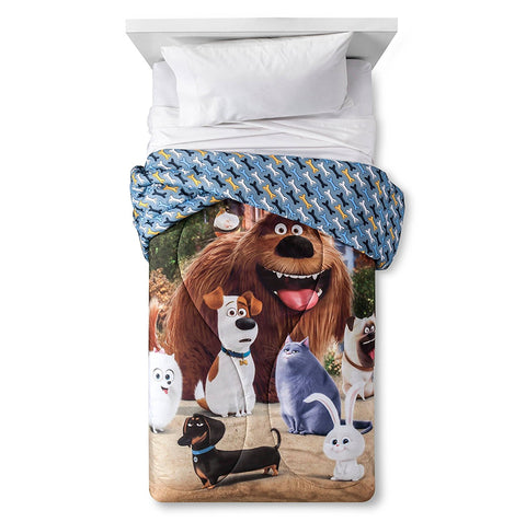 Secret Life Of Pets Twin Comforter