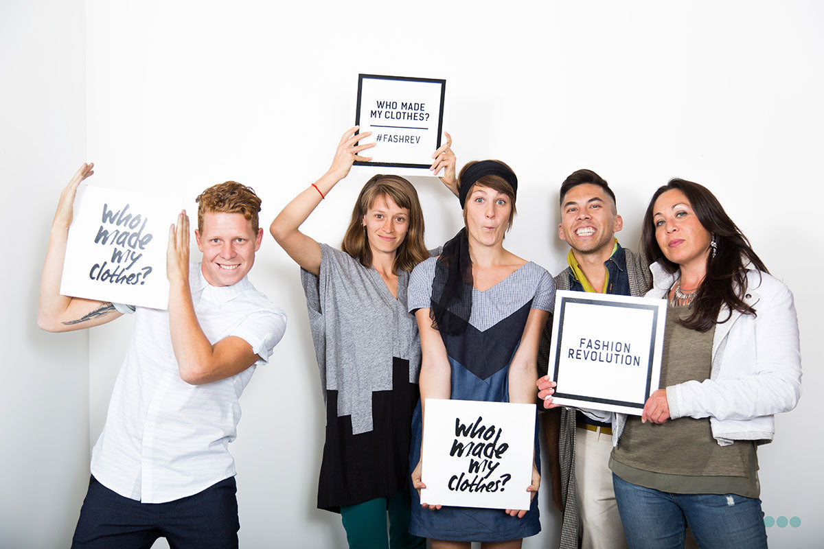 April 24th Is Now Recognized As Fashion Revolution Day An International Campaign To Recognize These Conditions And Ask Consumers Brands More Closely