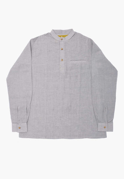 Azimpur Long-sleeve Popover Shirt