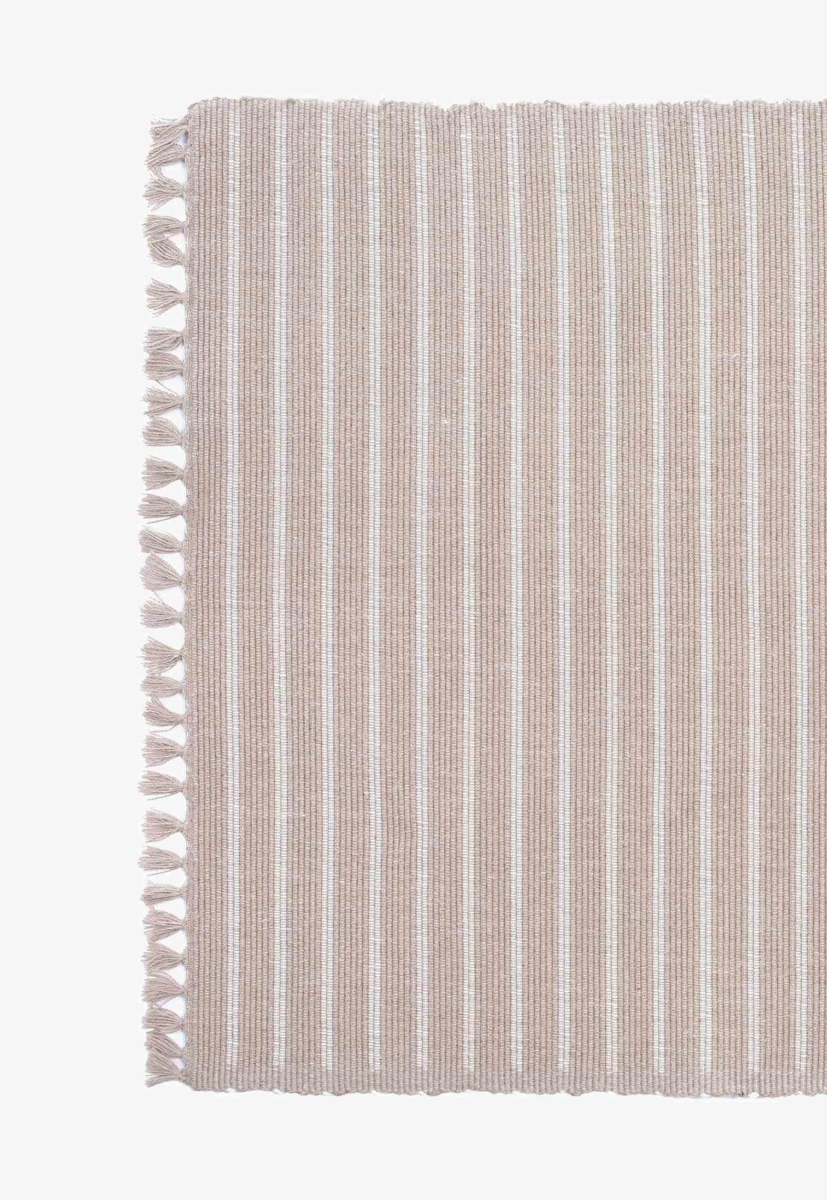 Dark Bali Ribbed Placemats (Pair)