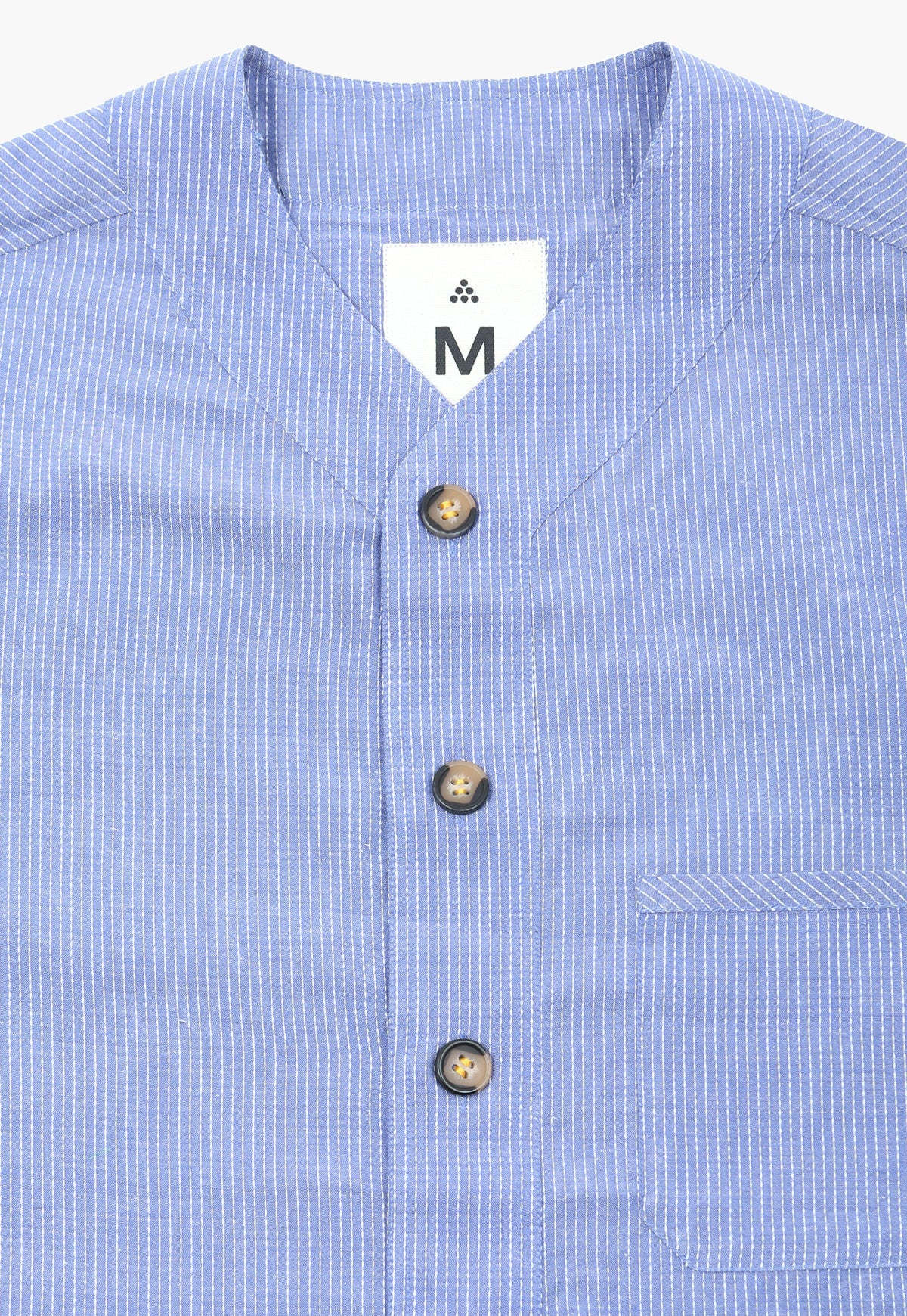 Bayu Baseball Button-Down