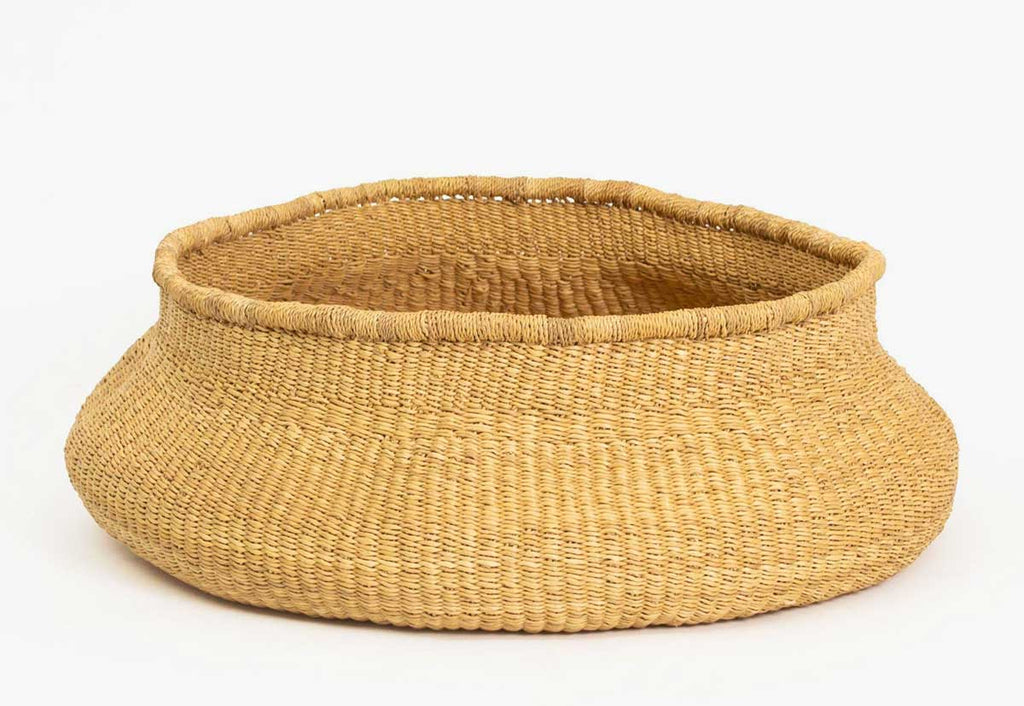 Large Belly Grass Basket