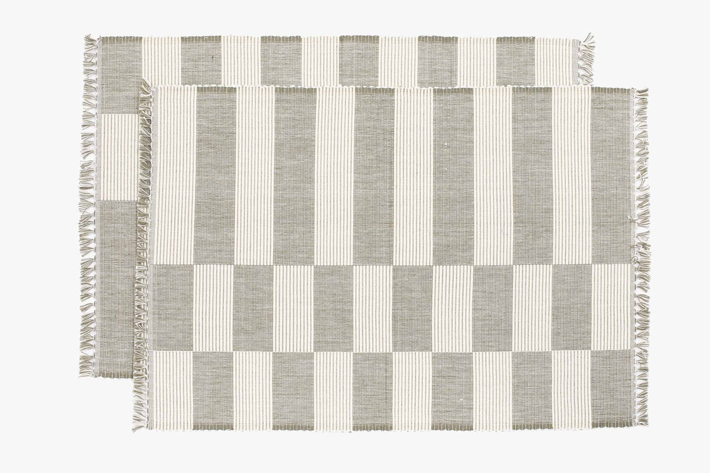 Ceke Ribbed Placemats (Pair)