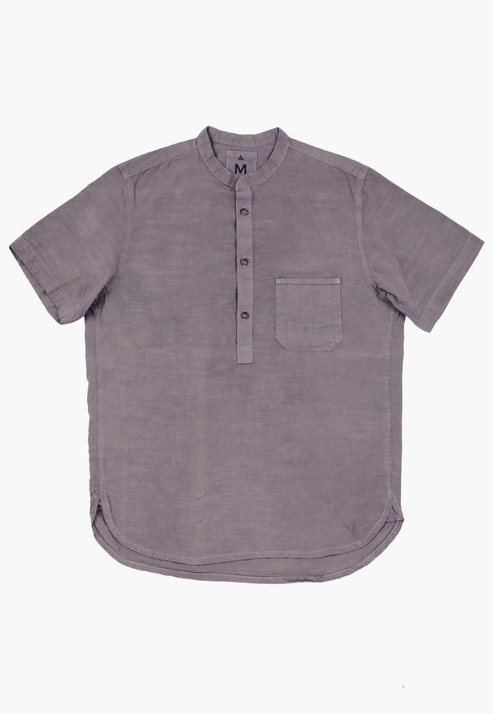 Charcoal Popover Shirt