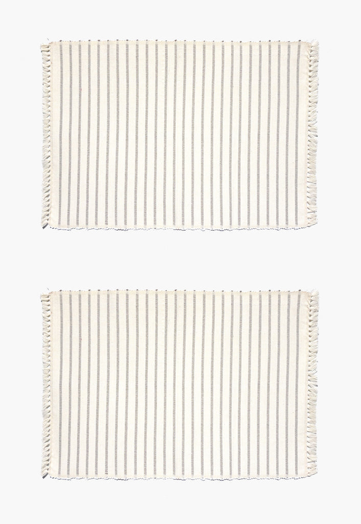 Bali Ribbed Placemats (Pair)
