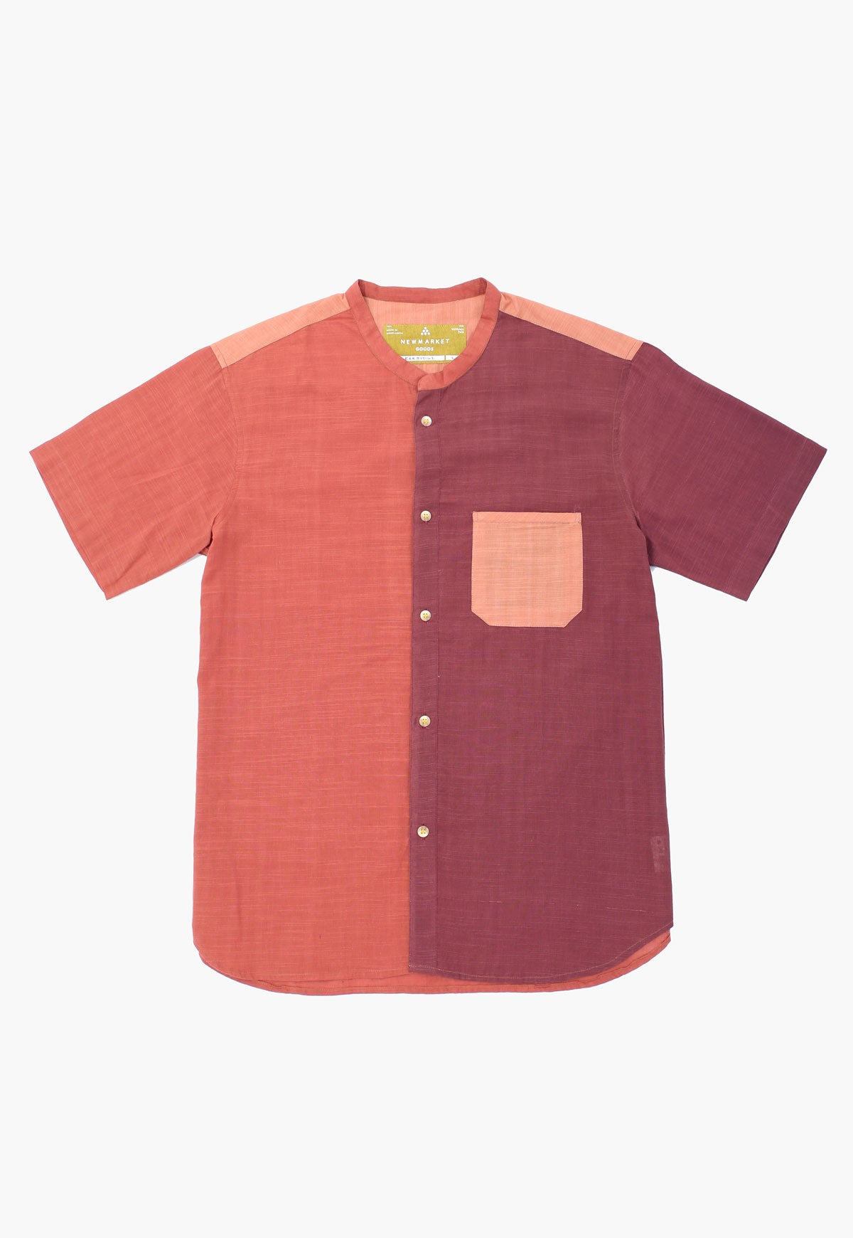 Earthtone Button-down Shirt