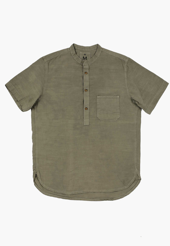 Green Buckthorn Popover Shirt