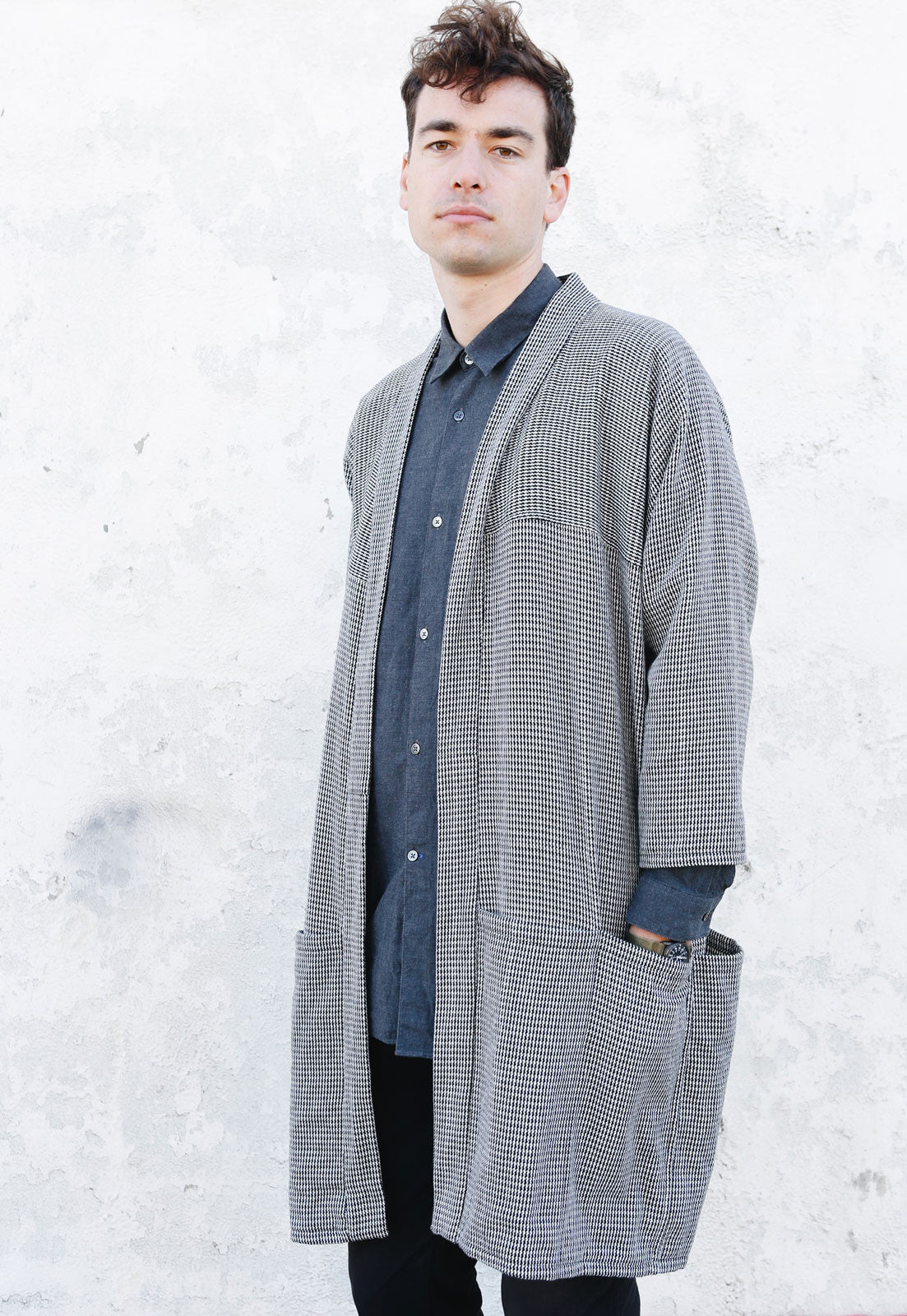 Houndstooth Pocket Hanten