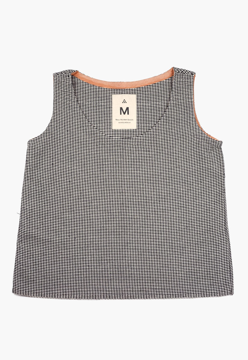 Houndstooth Tank