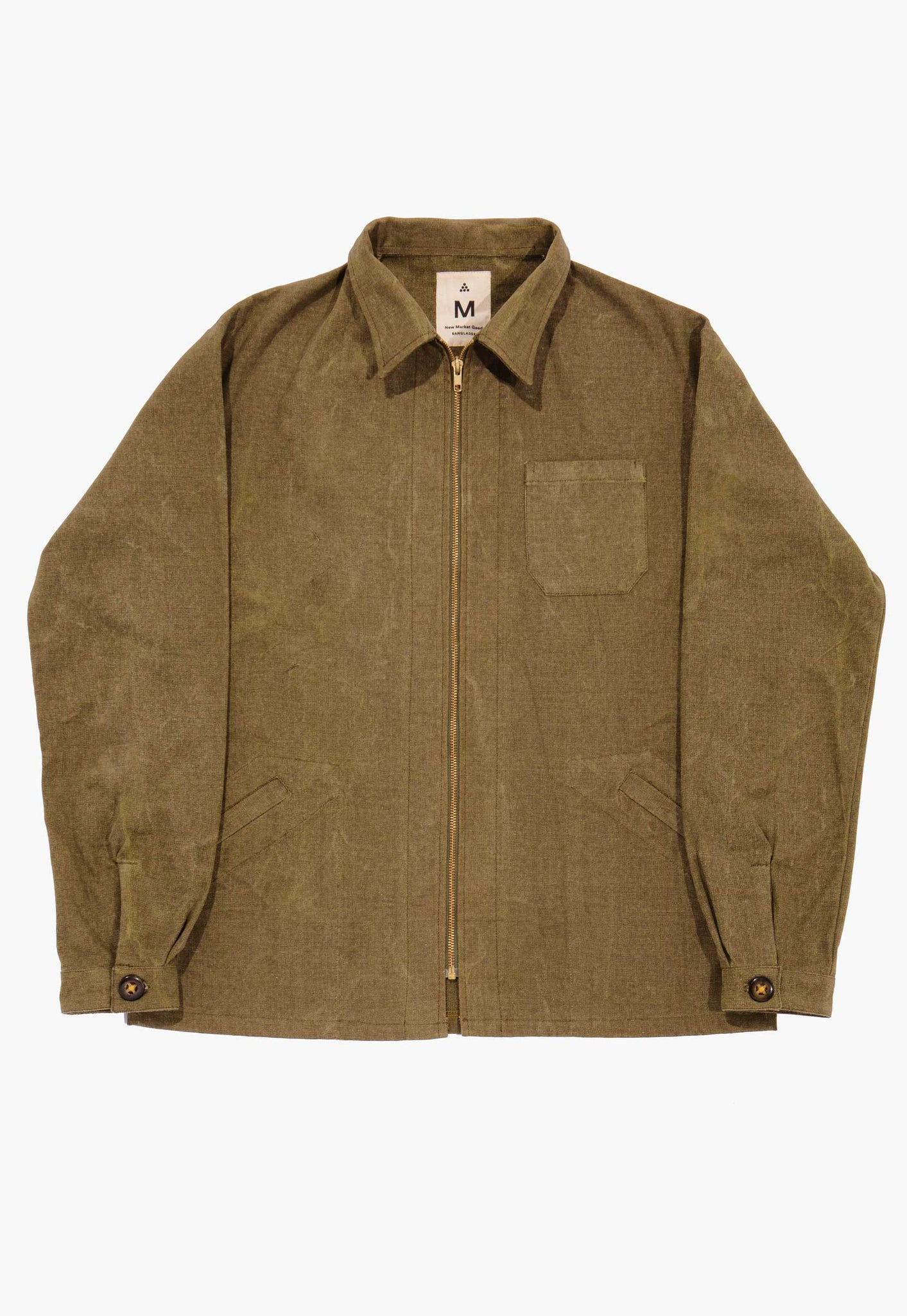 Hunter Canvas Zip Jacket