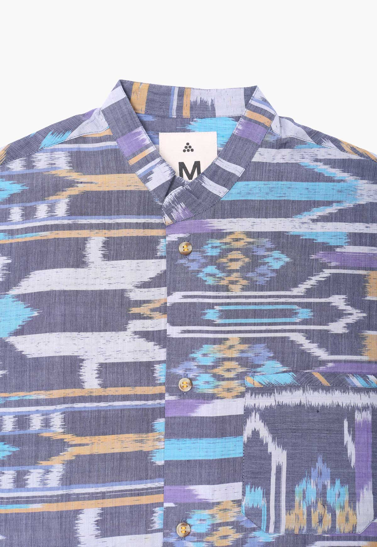 Ikat Box Button-Down