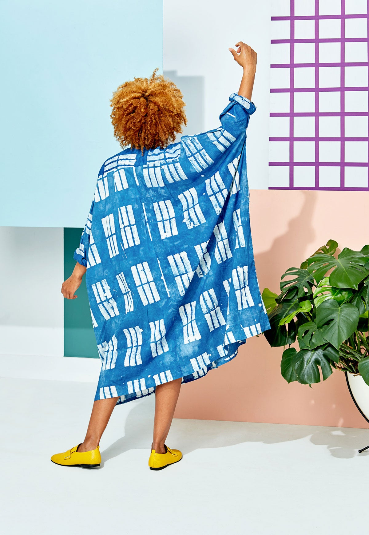 Ita Block Print Ultra Tunic