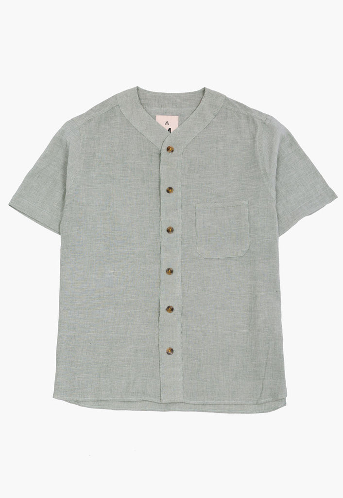 Kotwali Baseball Button-Down
