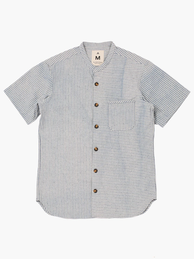 Stripe Denim Button-Down