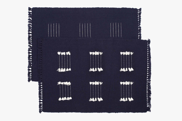 Meghna Ribbed Placemats (Pair)