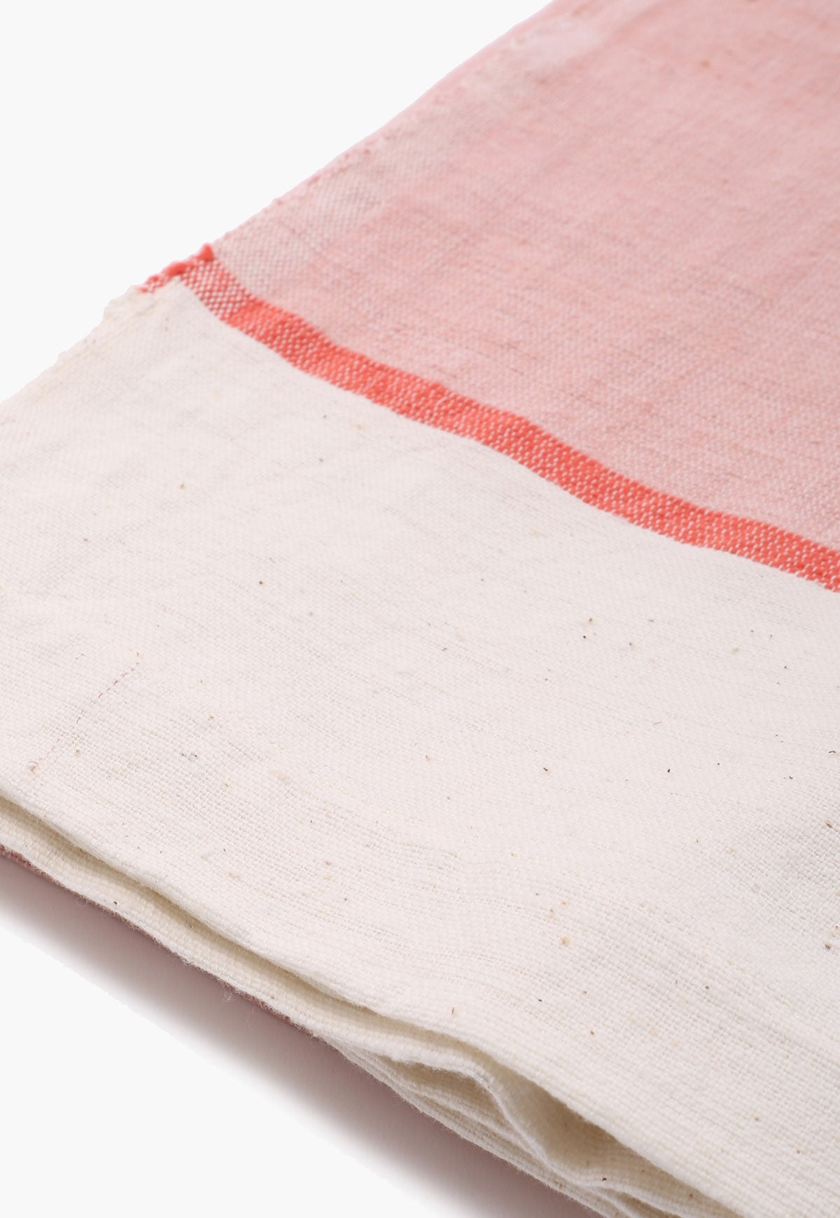 Pink & Off-White Beach Blanket