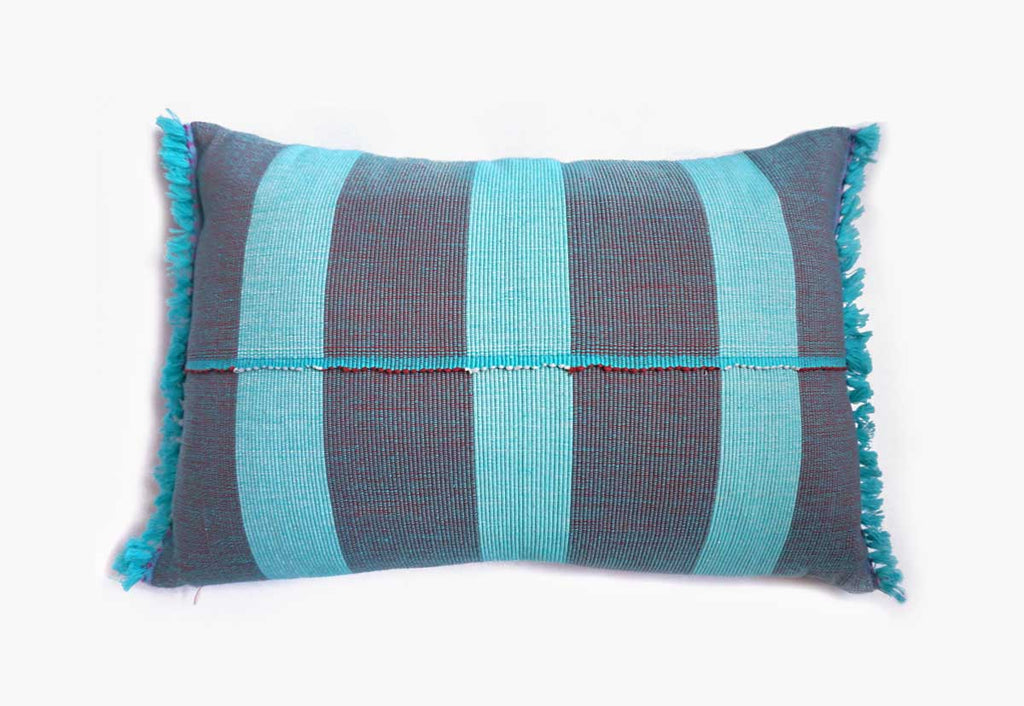 Rasmi Blue Accent Pillow