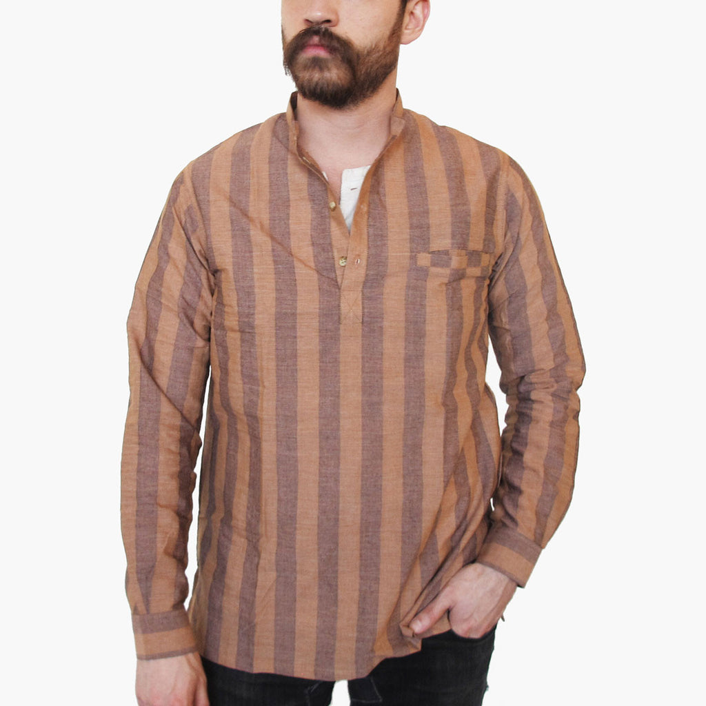 Tama Long-sleeve Popover Shirt