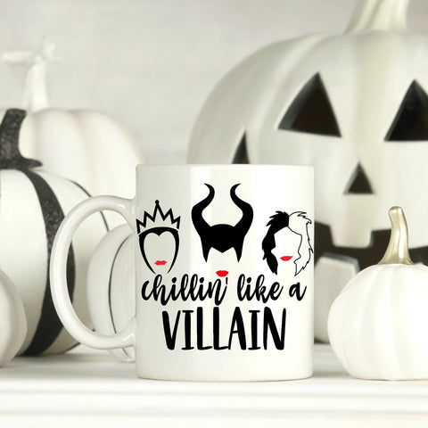 Chillin like a Villian 15 oz Mug