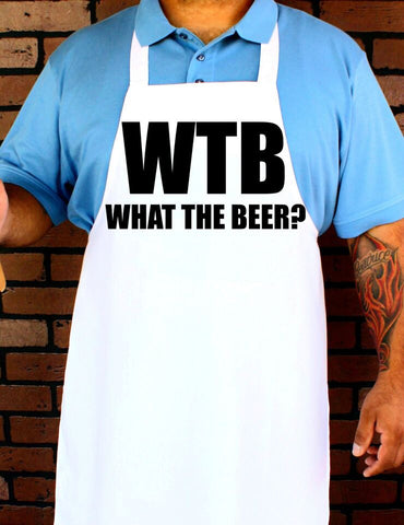WTB What The Beer Apron