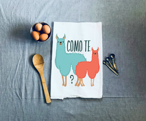 Como Te Llamas Kitchen Towel