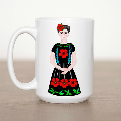 Beautiful Frida 15 oz Mug