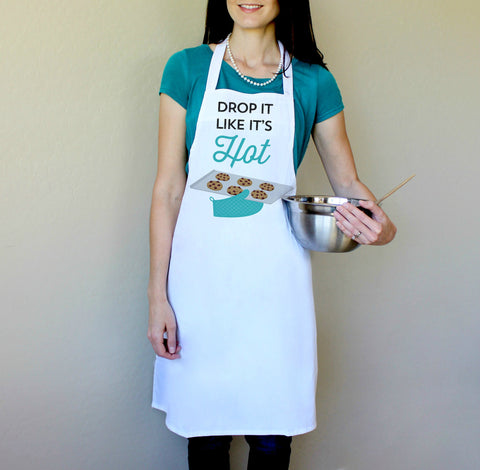 Drop It Like It's Hot Apron