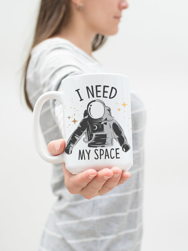 I Need My Space 15 oz Mug