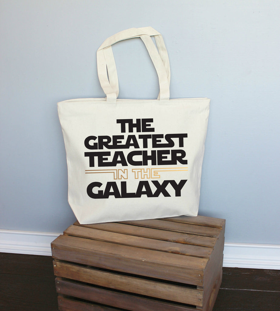 The Greatest Teacher in the Galaxy XL Tote Bag