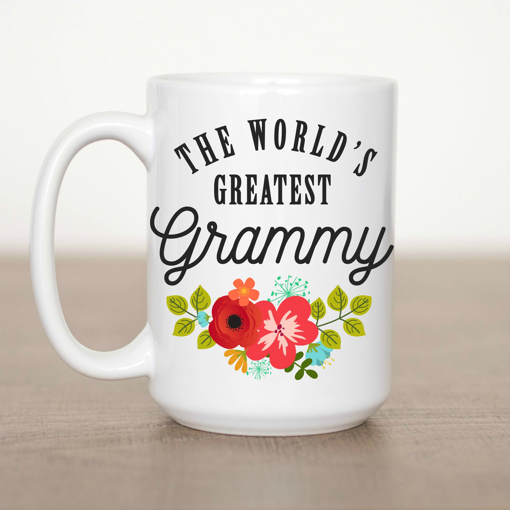 The World's Greatest Grammy 15 oz  Mug