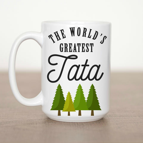 The World's Greatest Tata 15 oz Mug