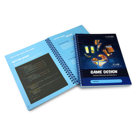 Student Design Process Notebooks - Unit 2: Game Design, Applied Robotics Curriculum