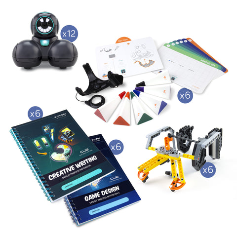Cue 12-Pack + Curriculum and Accessories