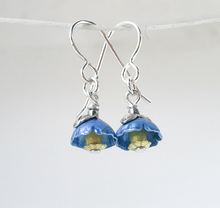Load image into Gallery viewer, Adele Stewart Maker, Handmade in New Zealand, buy NZ made, Shop local, Himalayan Poppy, Poppy, Earrings,