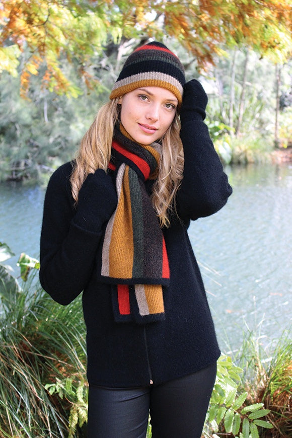 Made in New Zealand, Lothlorian, Possum, Merino, shop local, scarf