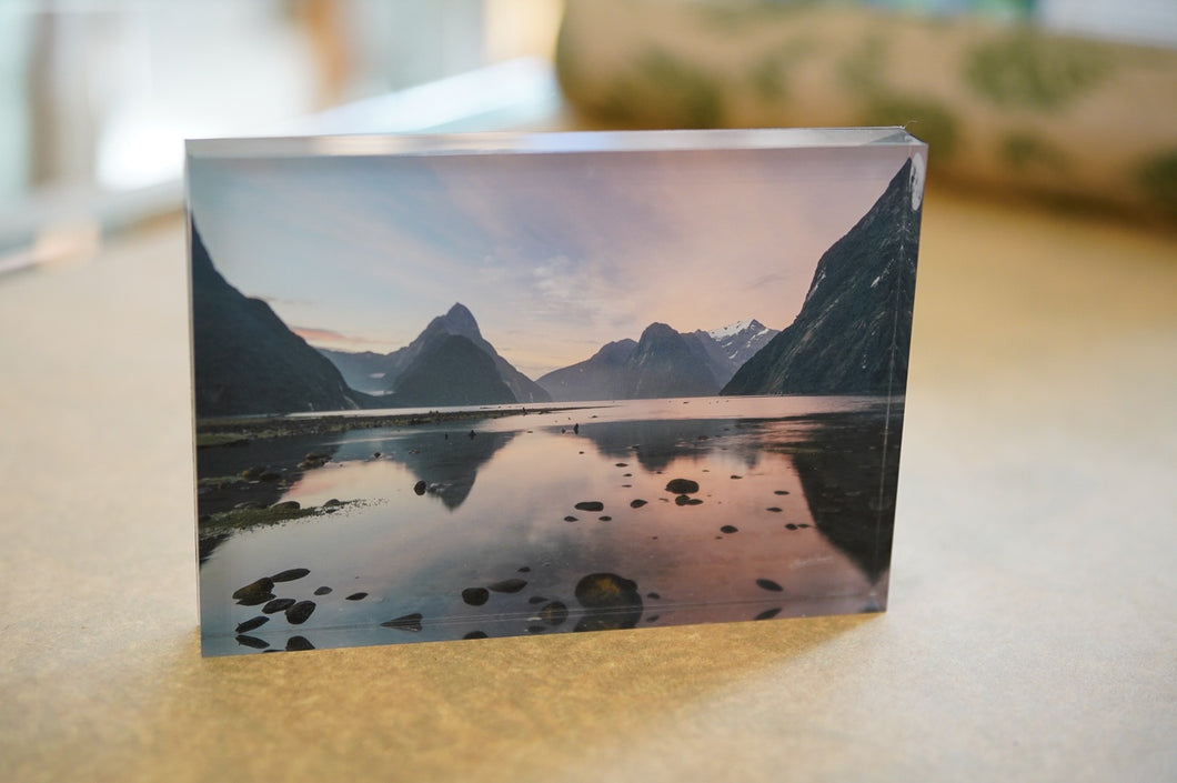 Landscape Photography, New Zealand, Stewart Nimmo, Nimmo, Photography, West Coast, Landscape Print, NZ Landscape, NZ, Gift, Handmade in New Zealand, Shop Local, NZ Made, Milford Sound, Sunset,