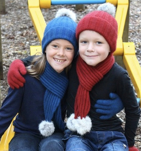 Cottontail Scarf - Childs