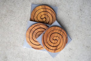 Rimu, Coasters, West Coast NZ, Made in New Zealand, Shop Local, Shop Kiwi, Handmade